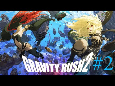 Gravity Rush 2 - Part 2 | Full Gameplay | Mining For Gems!!