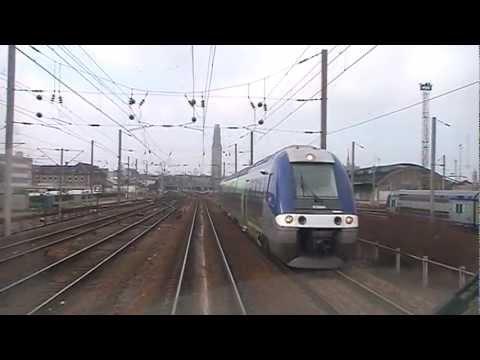 Voyage en cabine à bord du TER Lille - Amiens