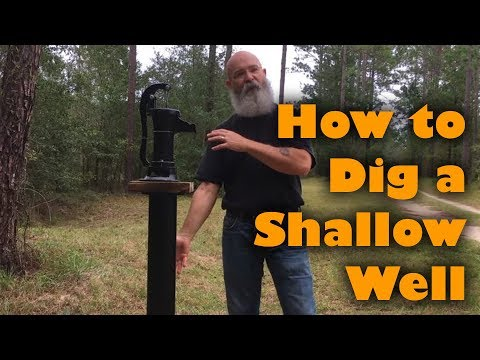 Digging a Shallow Well