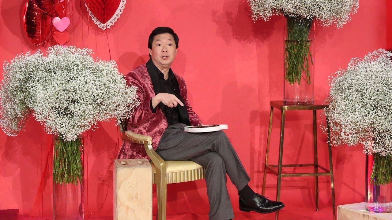 Ken Jeong Recites a Special Valentine's Day Poem
