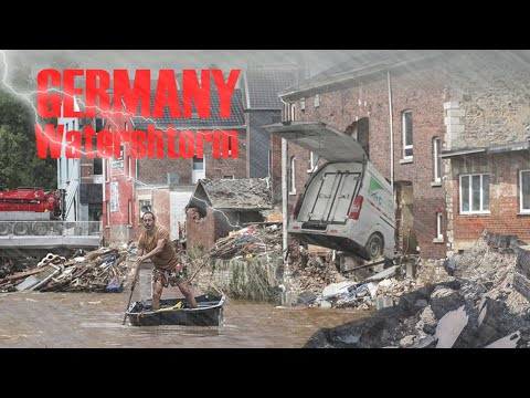 A terrible water storm is attacking Germany! | People on the brink!