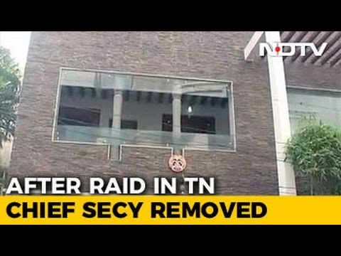 tamil-nadu's-top-bureaucrat-removed-a-day-after-income-tax-raids
