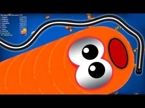 #wormvideolszoneio #slither Snake #arenaio WORMSZONEJO 001 STRONG SLITHER SNAKKE TOP 01/ Epic Worms