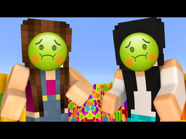 FICAMOS ENJOADAS! (Minecraft Parkour Troll)