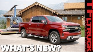 2019 Chevy Silverado: What's New and What's Not - Charting the Changes