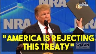 Trump Just Tore Up The UN Small Arms Treaty