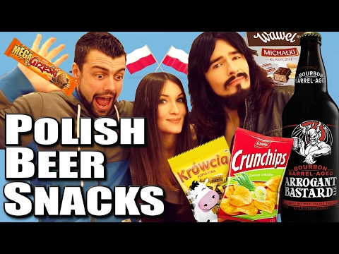 Irish People Taste - 'Polish Beer Snacks' & 'Strong American Beers!!