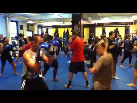 Muay Thai classes in Midtown Manhattan