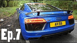 The LOUDEST Audi R8 V10 Plus? | Exhaust Expert!!