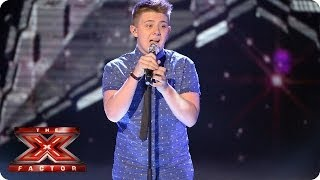 Nicholas McDonald sings True by Spandau Ballet - Live Week 1 - The X Factor 2013