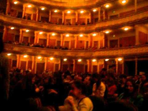 Херсонский театр на сцене театра Франко. 20.03.2016г.