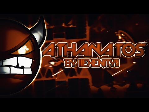 Athanatos 100%  IIExenityII Extreme Demon On Stream  Geometry Dash 20  Sunix