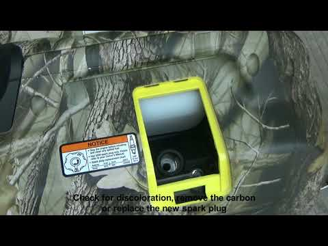 Generator Spark Plug Inspection 2500ic Maintenance Troubleshooting Repair (Part 3 of 3)