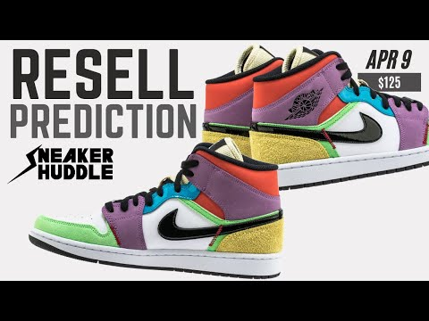 Nike Air Jordan 1 Retro Mid 'Multicolor' (W) | Resell Prediction + Release Info