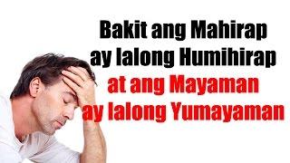 May Pag-asa Ka Bang Yumaman? (isang Pag-aaral)