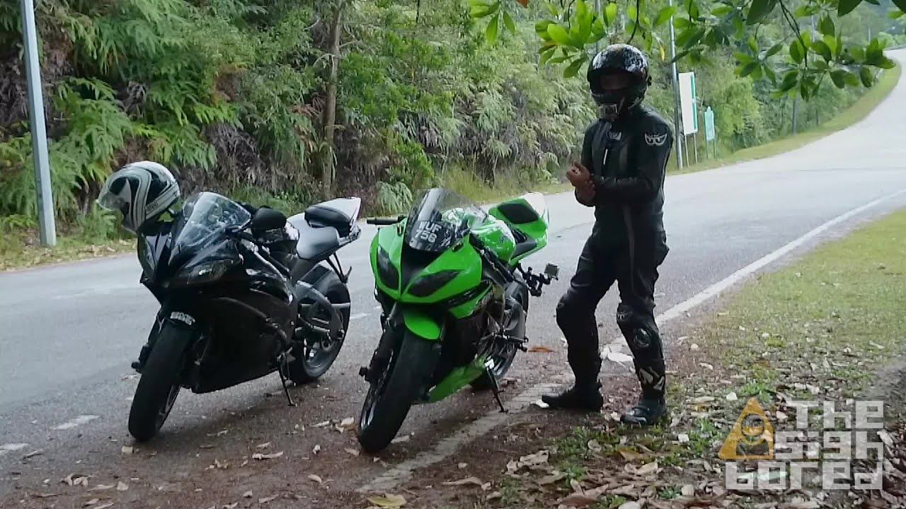 Kawasaki Ninja Zx 6r Vs Yamaha Yzf R6 Short Comparison Youtube