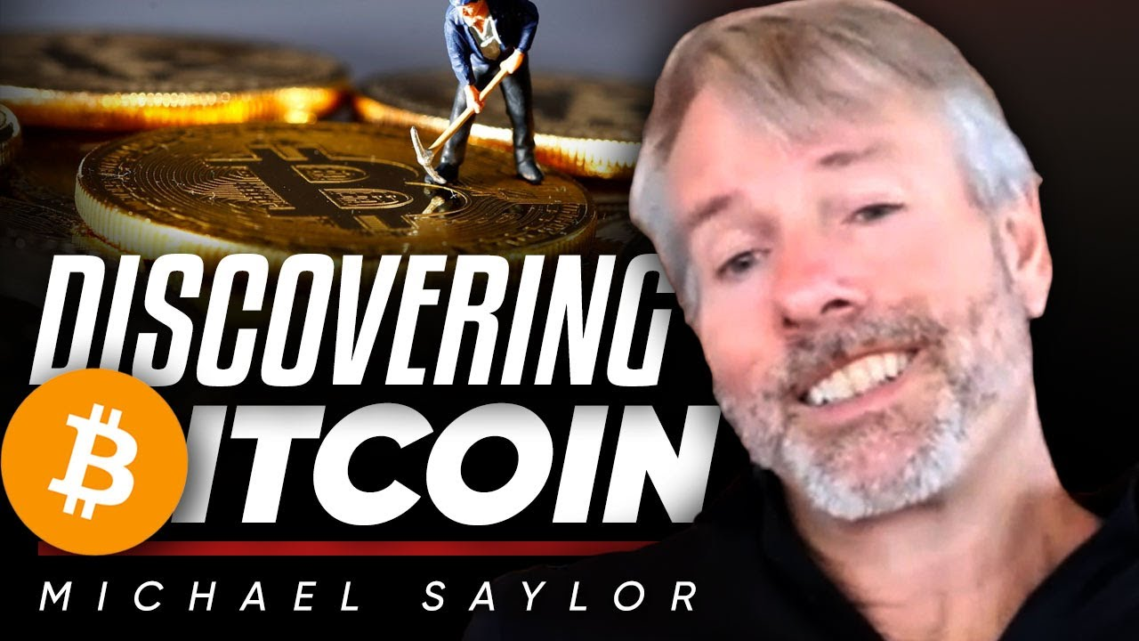 """""""Cash Is Trash!"""" How Michael Saylor Discovered 'Digital Gold' Bitcoin 🧐"""