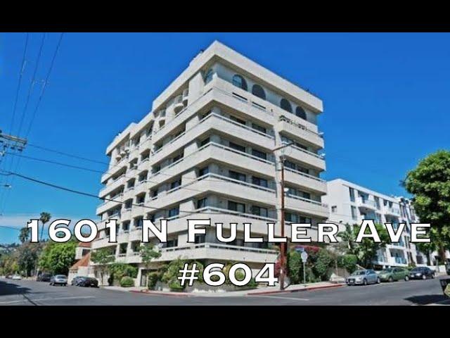 1601 N Fuller Ave #604, Los Angeles CA 90046