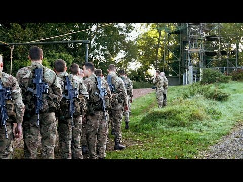 The Tarzan Assault - Test 3 - Royal Marines Commando Tests