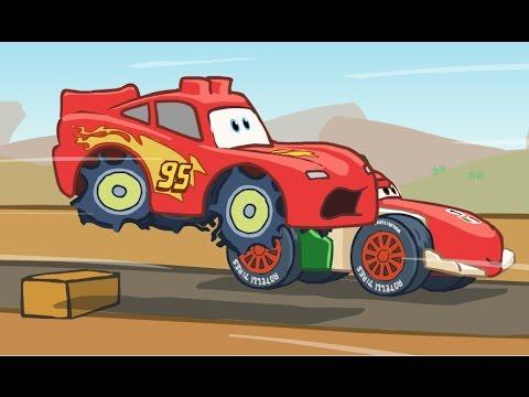 Мультики для детей про Тачки 2. Развивающий мультик игра для детей Анимашки Познавашки.