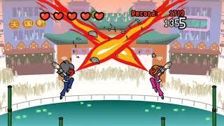 Rhythm Heaven Fever - Kung Fu Ball (Score: 8433)