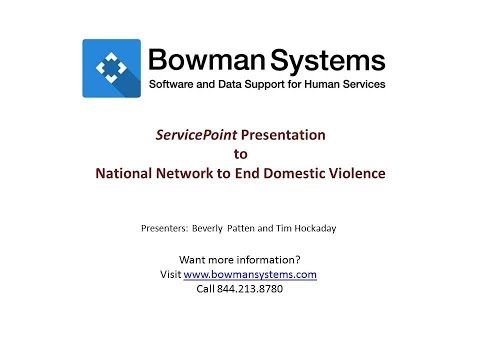 Bowman Systems Database Features Presentation