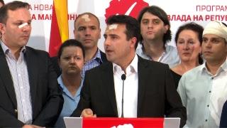Пренос во живо од прес конференцијата на претседателот на СДСМ Зоран Заев