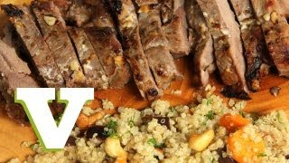 Honey Baked Leg Of Lamb: Food For All S03e6/8