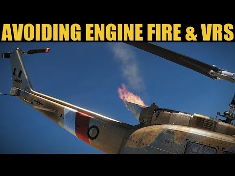 UH-1H Huey: How To Avoid Engine Fires & VRS | DCS WORLD