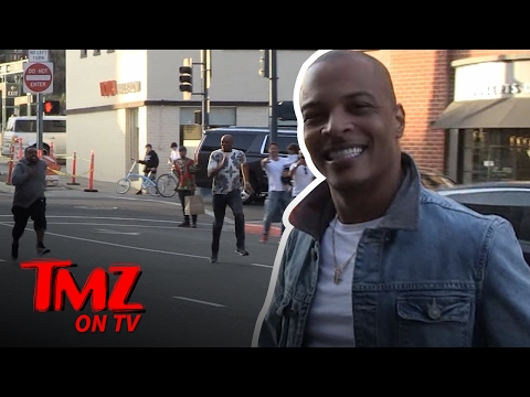 T.I.'s Pals Are Racing Down the Streets of Beverly Hills | TMZ TV