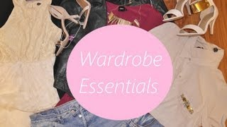 Wardrobe Essentials/Timeless Staples Thumbnail