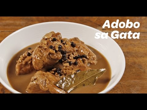 Adobo sa Gata Recipe | Yummy Ph