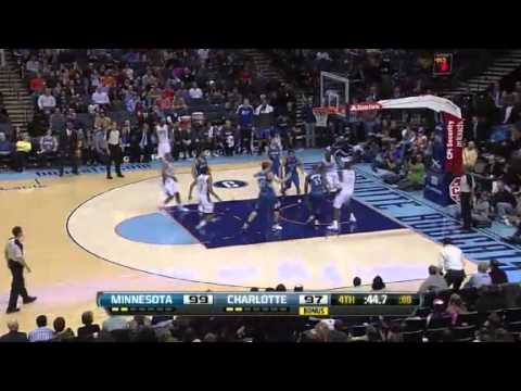 Timberwolves vs. Bobcats | Game Recap  | NBA 2012-13 Season 26/01/2013
