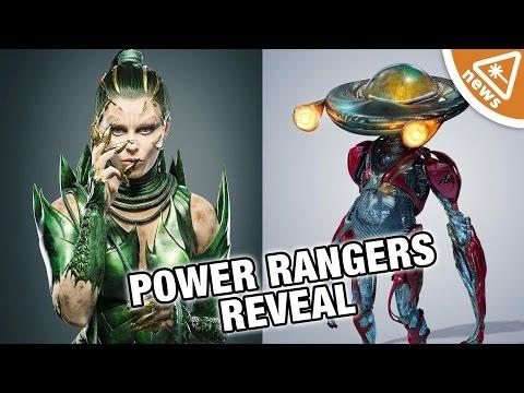 What Alpha 5 and Rita Repulsa Reveal about the Power Rangers Movie! (Nerdist News w/ Jessica Chobot)