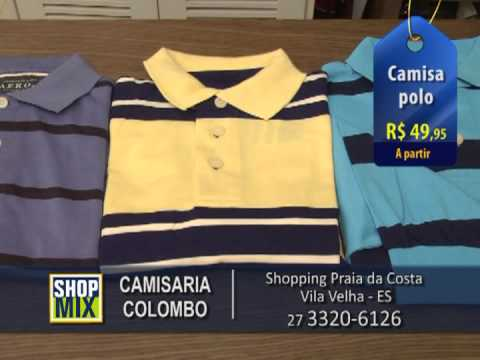 Camisaria Colombo - Shop mix - YouTube 3b0baf2170256