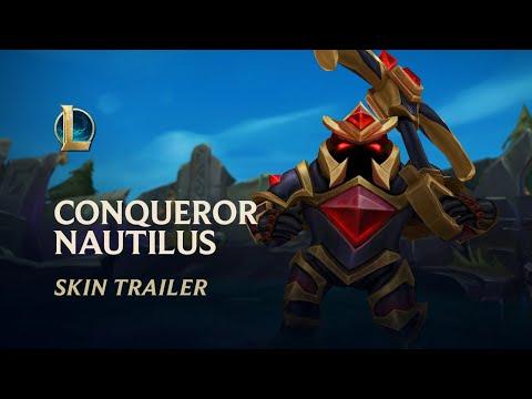 Conqueror Nautilus   Skin Trailer - League of Legends