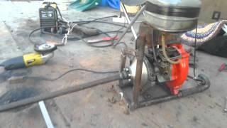 видео самодельный подвесной лодочный мотор