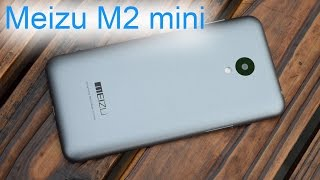 Обзор Meizu M2 mini: удобный смартфон с хорошими камерами, скоростью и батареей (review)