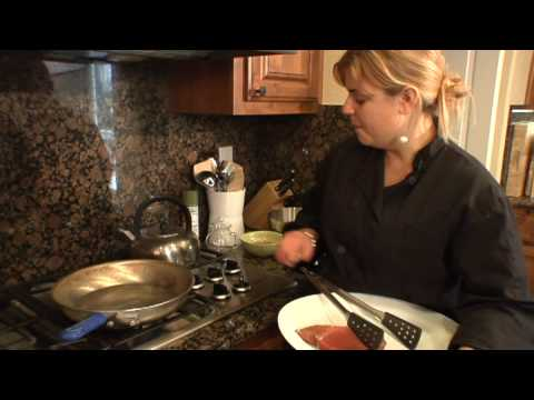 Healthy Cooking Lessons : How to Cook Tuna Steaks