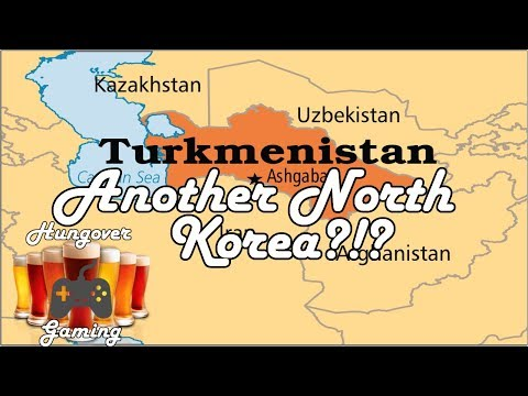 Another North Korea: Turkmenistan?!?-Hungover podcast ep. 35