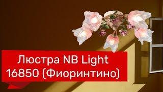 Люстра NB LIGHT 16850 (NB LIGHT 458-cl95-pla81-cp029 Фиоринтино) обзор