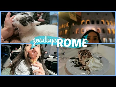 ROMAN CAT SANCTUARY (vatican city, a food journey) // Rome Final Day // Italy Travel Vlog 2017