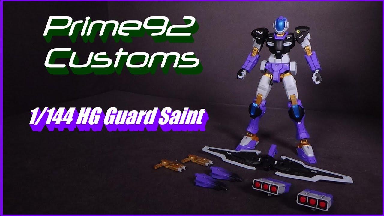Download Prime92 Customs: 1/144 HG Guard Saint
