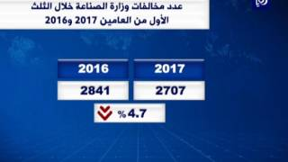 وزارة الصناعة: 2707 مخالفة تموينية في الأسواق خلال الثلث الأول - (8-5-2017)