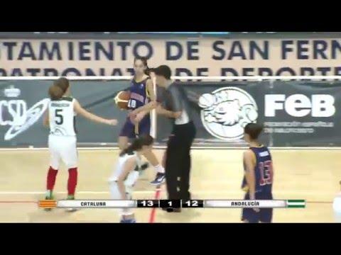 #Mini2016: Final Cto. Esp (F) - Cataluña vs Andalucía (85-83)