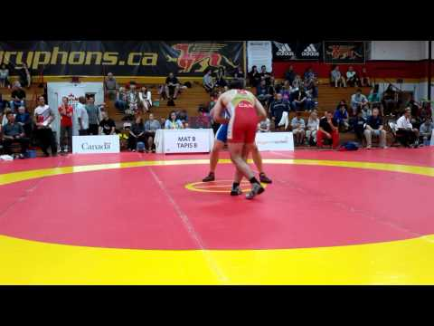 2015 Canada Cup: 97 kg Yiannis Narlidis (CAN) vs. Jeremy Latour (CAN)
