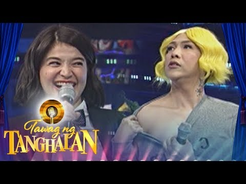 Tawag ng Tanghalan: Vice Ganda proudly shows his neck