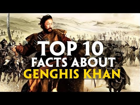 Top 10 facts about Genghis Khan