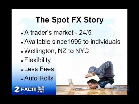 FXCM + NinjaTrader  Advantages of Spot Forex