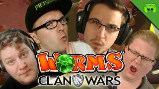 KATZE KILLT SPIELER 🎮 Worms Clan Wars S2 #3
